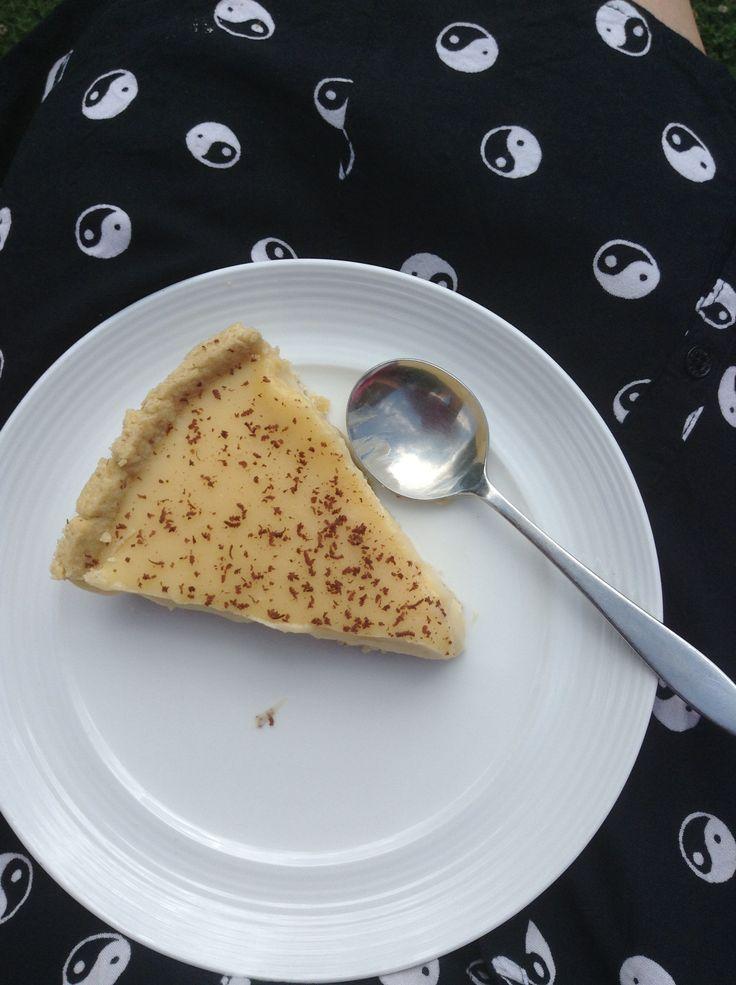 Fresh made fudge tart. Just like school | Food to make! | Pinterest