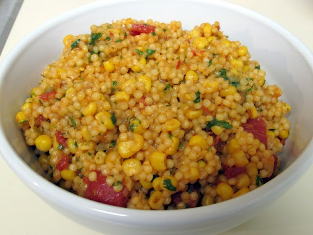 Tex-Mex Couscous - vegetarian-friendly, easily made vegan, not to ...