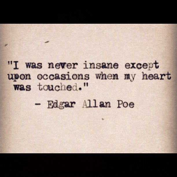Quotes About Love Edgar Allan Poe : edgar allan poe quote dark side quotes Pinterest