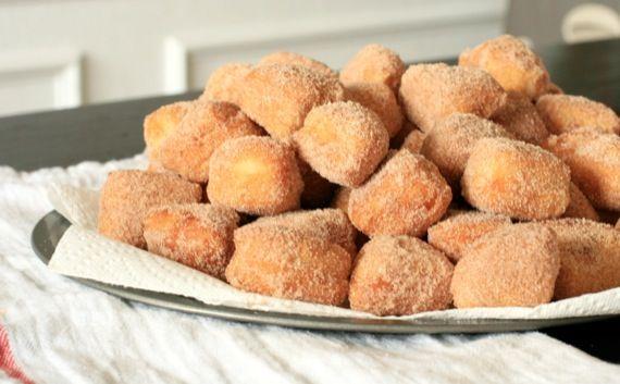 Fried Cinnamon Sugar Biscuits | Breakfast | Pinterest
