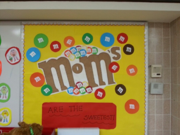 Mother S Day Classroom Decoration Ideas ~ Mother s day bulletin board m boards pinterest