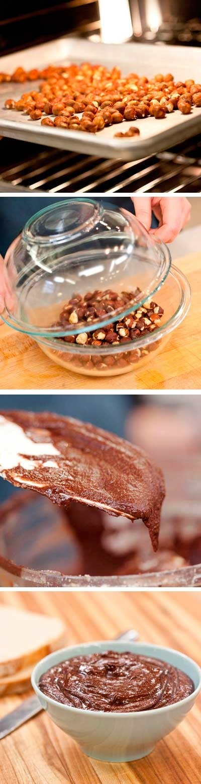 ... Make Homemade Nutella. Sweet, spreadable, and addictive. How To Make