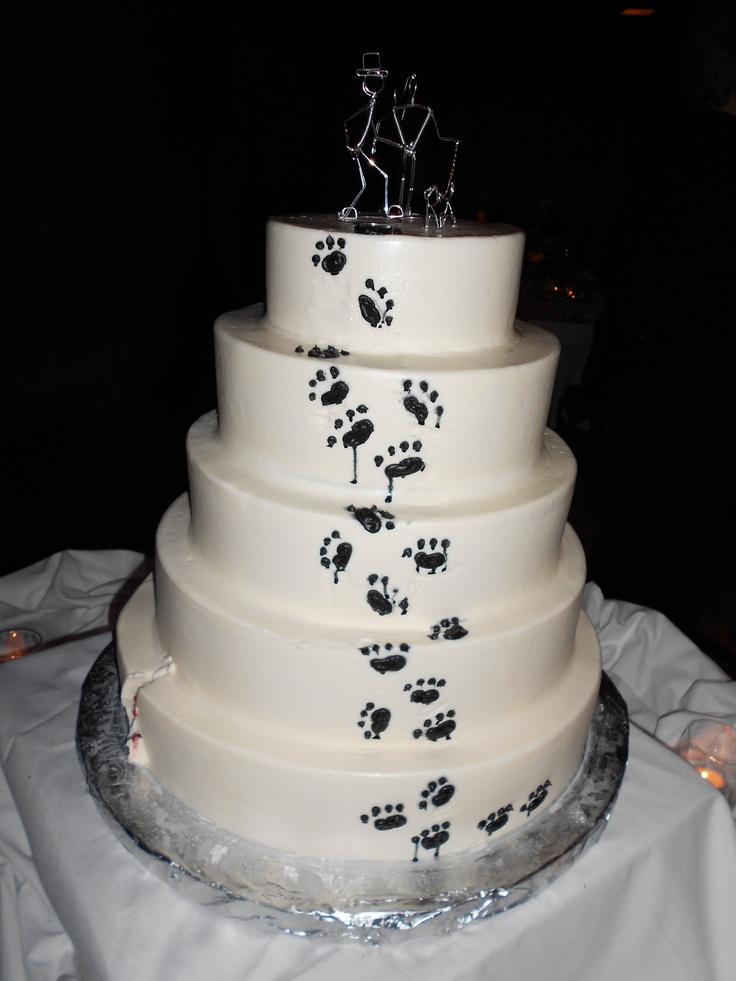 cakes, pets, paw prints | Cakes | Pinterest