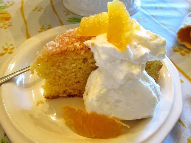 Orange Cornmeal Cake | The Italian Next Door Blog | Pinterest