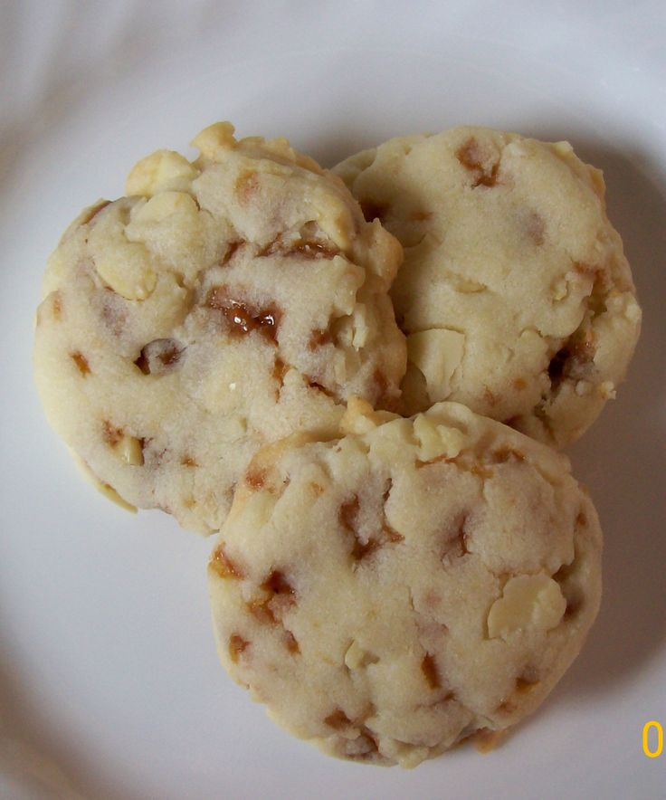 Toffee Almond Cookies | Tasty Kitchen: A Happy Recipe Community!