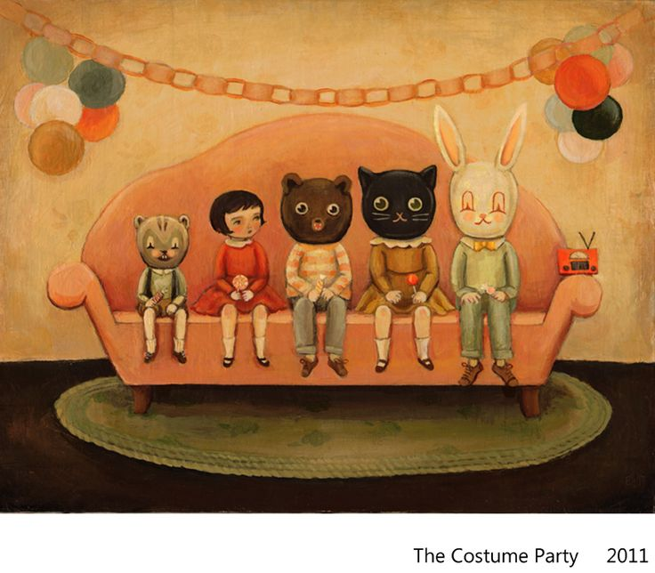 the costume party, emily winfield martin, 2009
