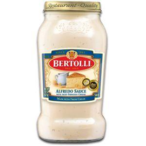 Bertolli® Alfredo Sauce - the best alfredo sauce.