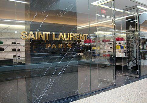saint laurent store front n pinterest. Black Bedroom Furniture Sets. Home Design Ideas