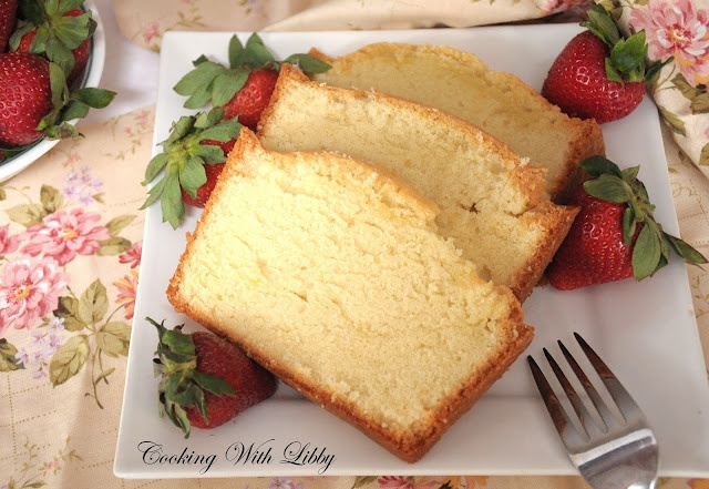 Grandmother's Pound Cake...only 5 ingredients and sooooo yummy!!