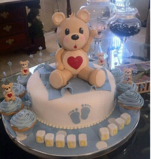 Puerto Rican Baby Shower Cakes