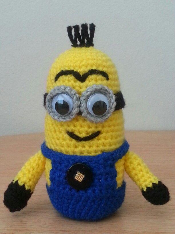 Amigurumi Crochet Minion Amigurumi Pinterest