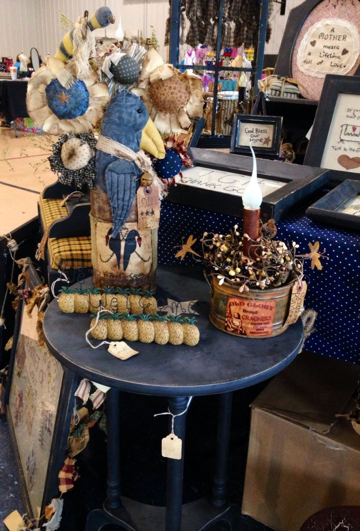 Craft show cindy 39 s primitives prims i 39 ve made pinterest for Made in the south craft shows