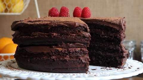 Extreme Chocolate Cake | Chocolate | Pinterest