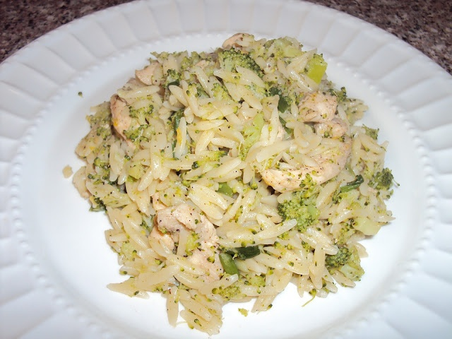 Spicy Broccoli orzo with chicken | Nigerian foodies and recipes from ...