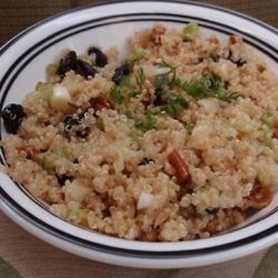 Quinoa Salad with Dried Fruit and Nuts | loves | Pinterest
