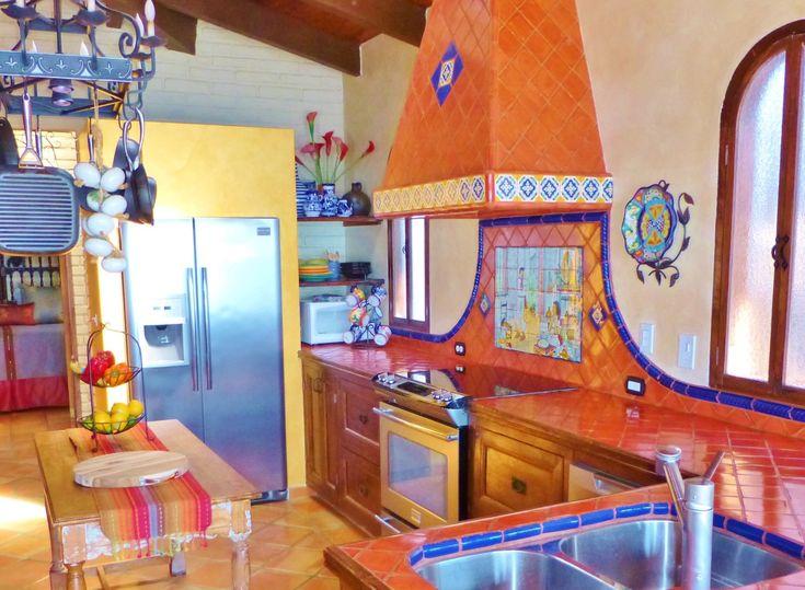 Kitchen Using Mexican Tiles Kristi Black Designs Pinterest
