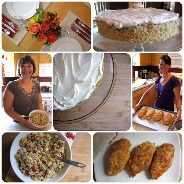 gluten free recipes with zucchini almond cake
