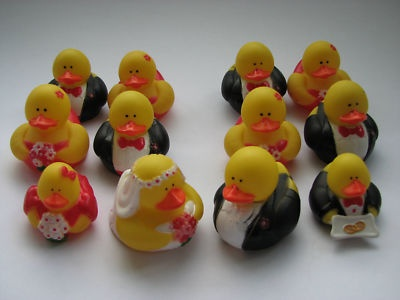 Bridal Party Rubber Ducks