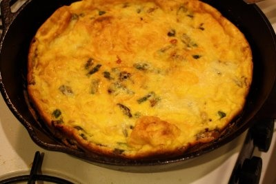 spring frittata with asparagus scallion and fontina from Big Girls ...