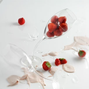 Strawberry Romanoff - simple but so tastfull, perfect summer dessert