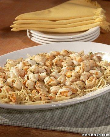 Shrimp Scampi with Spaghetti Recipe | Dinner Recipes | Pinterest