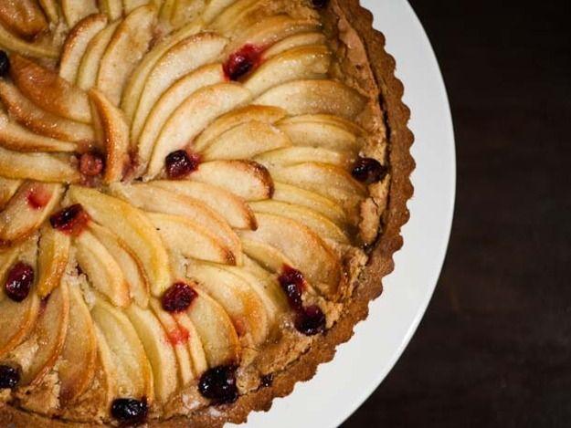 Cranberry Apple Nut Tart | Recipe