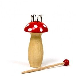Knitting Mushroom. Spool knitter made in Germany. Cute and crafty! $9.95