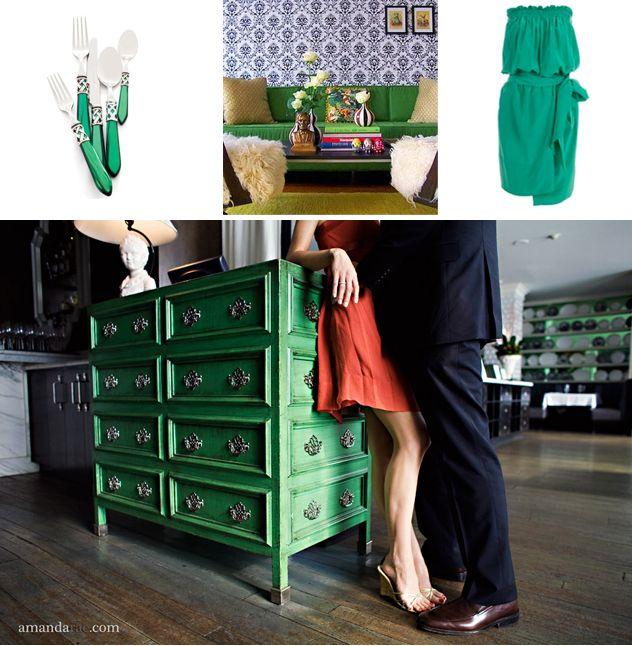 green chest