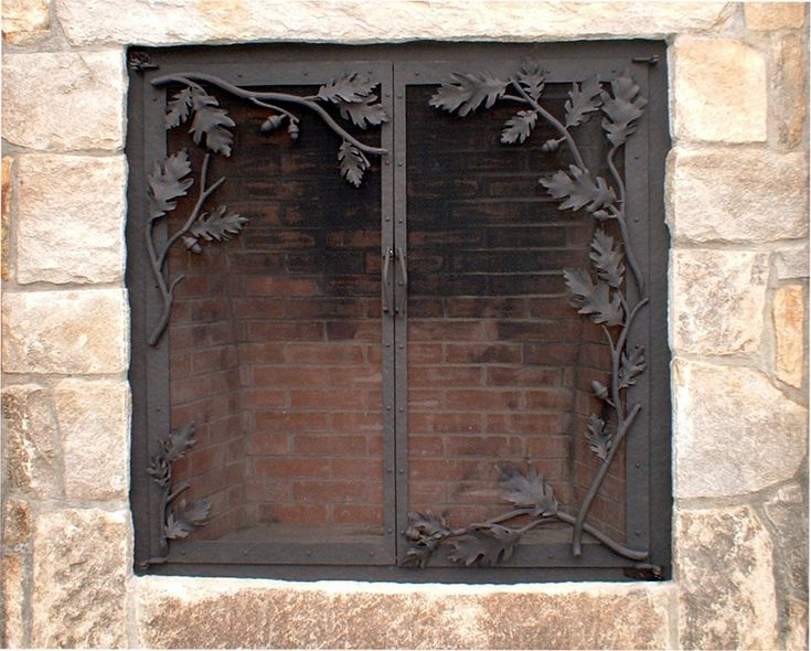 Fireplace screens doors and tools My Style