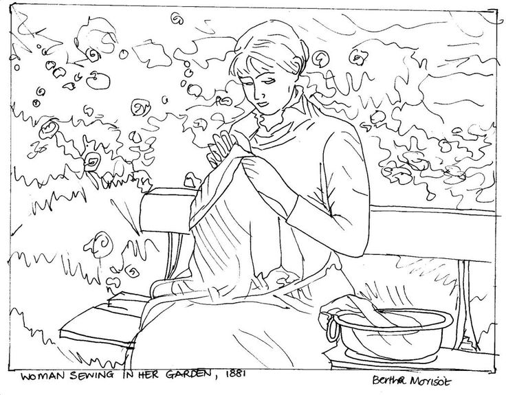 ... Fine Art Coloring Pages   Photo#17 ...