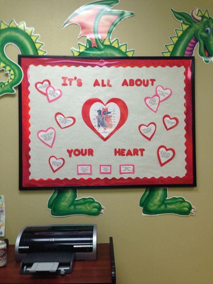 My valentines day bulletin board | Bulletin board ideas | Pinterest