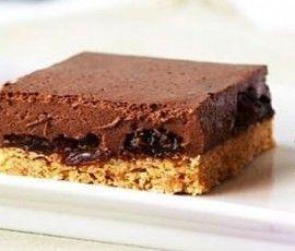 Rum And Raisin Cheesecake Slice ~ a delicious no-bake cheesecake treat ...
