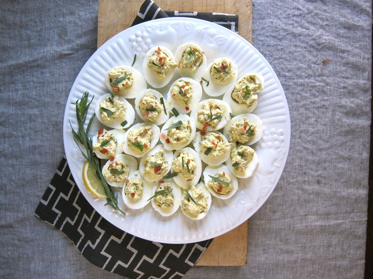 Deviled Easter Eggs with Pancetta and Tarragon - Read More at Relish ...