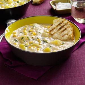 ... corn and cod chowder healthy corn chowder corn chowder recept yummly