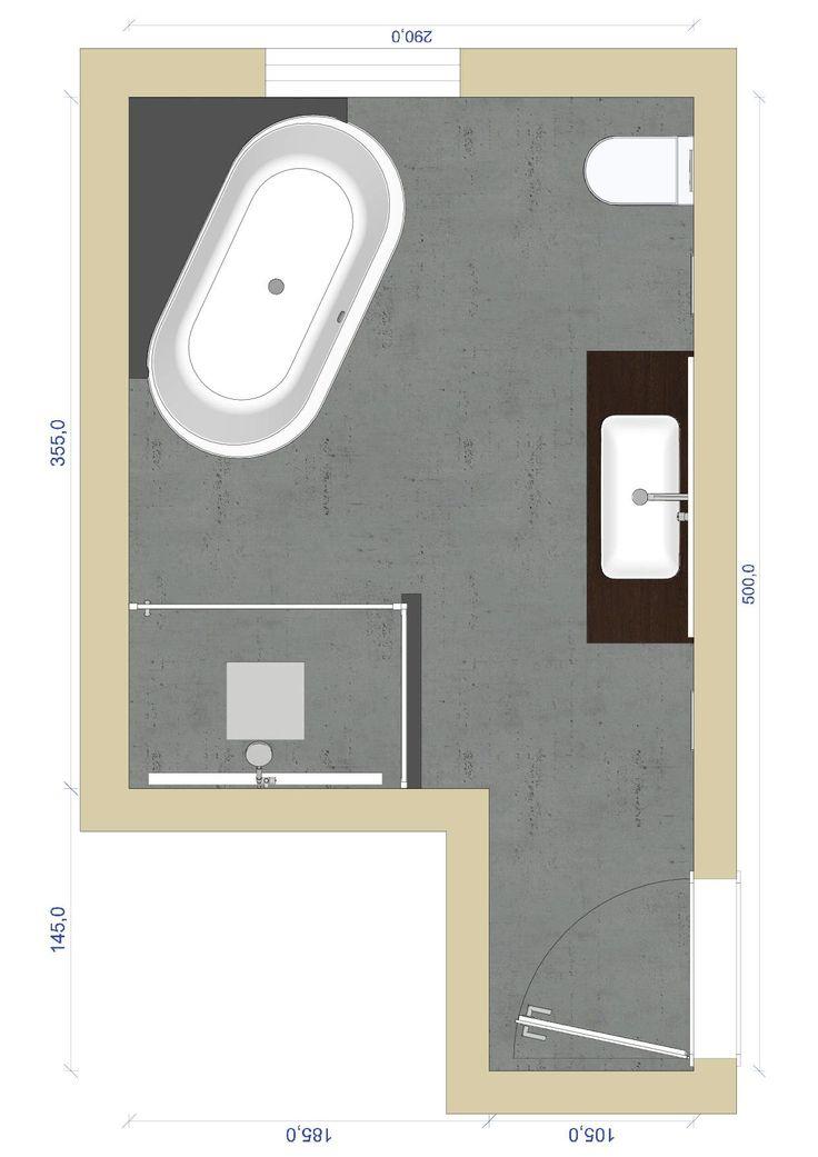 1000 bilder zu badarchitektur gut geplant auf pinterest. Black Bedroom Furniture Sets. Home Design Ideas