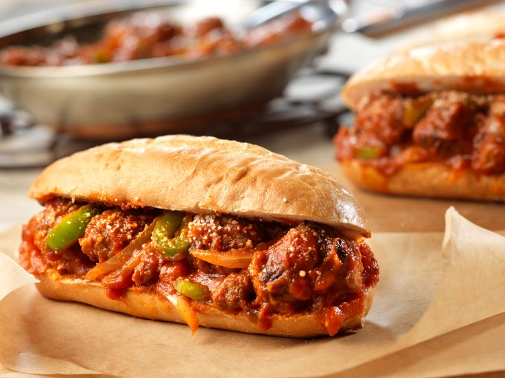 Spicy Sausage and Peppers Sandwiches | Recipe