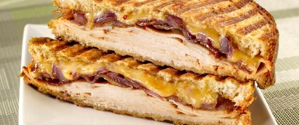 Chipotle Chicken & Bacon Panini. This flavorful panini combines the ...