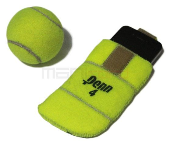 Recycled Tennis Ball iPhone/Mobile Phone Sleeve by MANIkordstudio, $35.50