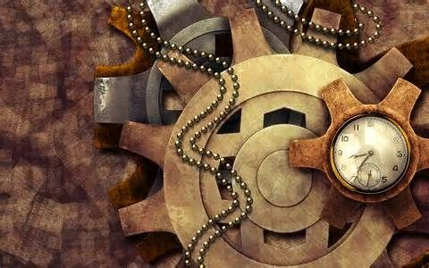 Clock work and cogs