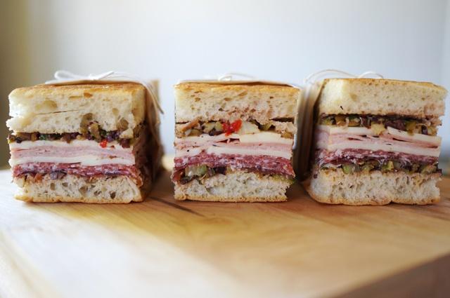 Muffaletta Sandwich   Favorite Recipes   Pinterest
