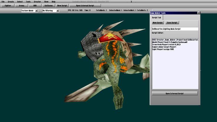 Creator Game Maker Script