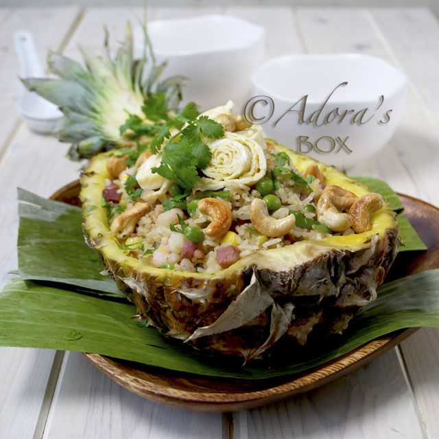 Thai Style Pineapple Fried Rice | tasty | Pinterest
