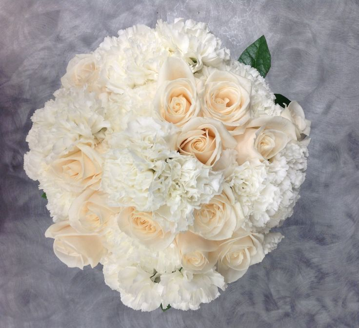Bridal Bouquet With Vendela Roses And Carnations By Belton Hyvee