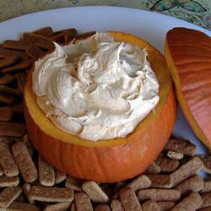 Pumpkin Fall Dip | Dips | Pinterest