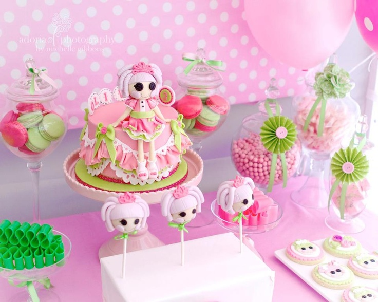 Lalaloopsy Birthday Cake Toppers