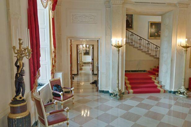 Grand Foyer White House : Grand staircase the white house pinterest