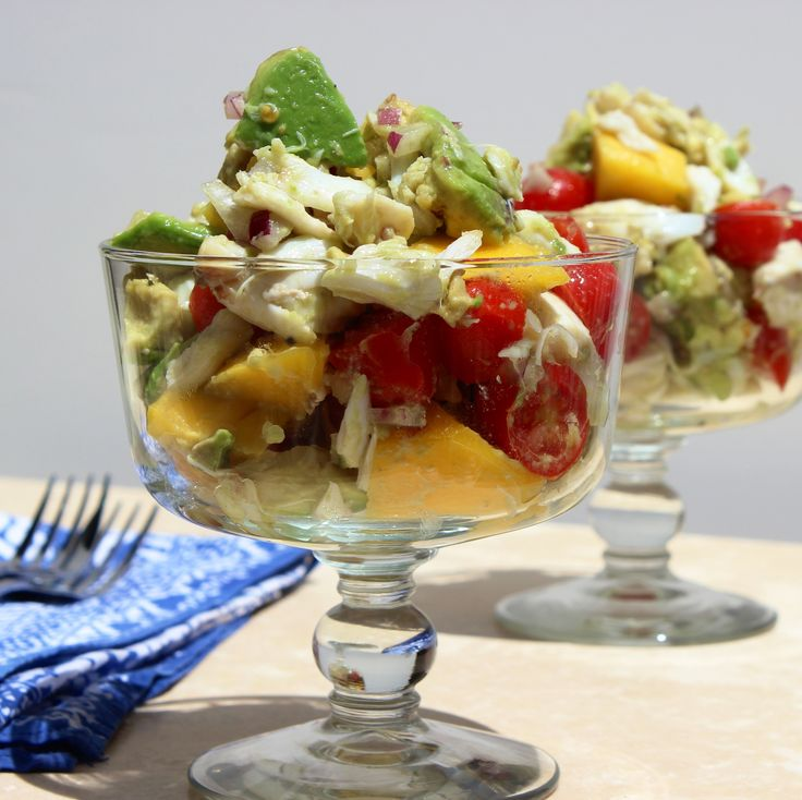 Mango Crab and Avocado Salad | Recipe