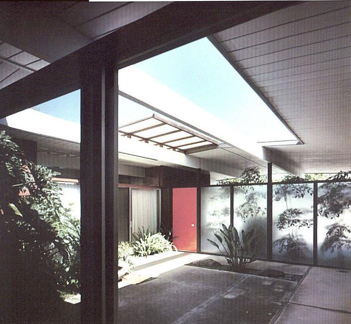 Eichler Courtyard Eichler Homes Pinterest