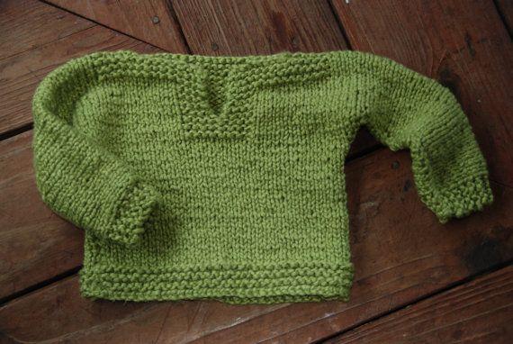 Traditional Fair Isle Knitting Patterns : organic cotton baby sweater knit pattern