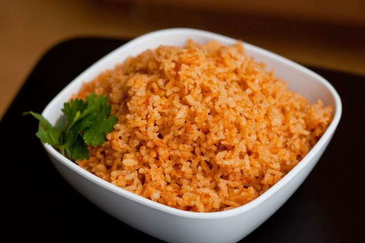 Mexican Rice, aka Spanish Rice from The Domestic Man. We mixed in some ...
